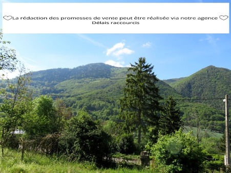 Vente Terrain LA MOTTE D'AVEILLANS Réf. Pp 1272 - Slide 1