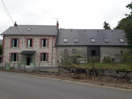 vente maison Eygurande 130m2 87000€