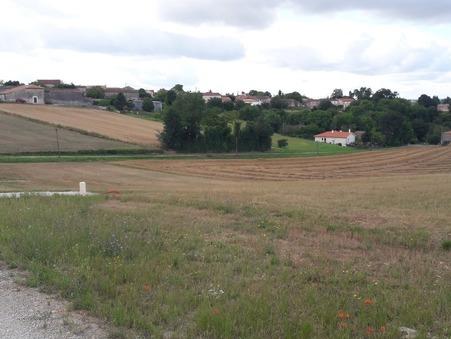 vente terrain ST GENIS D'HIERSAC 968m2 23000€