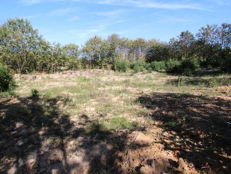 Vends terrain LA CHAPELLE AUBAREIL 2500 m² 42 500  €