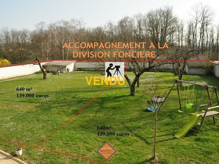Vente Terrain STE EUPHEMIE Réf. 1039-1 - Slide 1