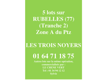 Vente Neuf RUBELLES Réf. RUBELLES T2  - Slide 1