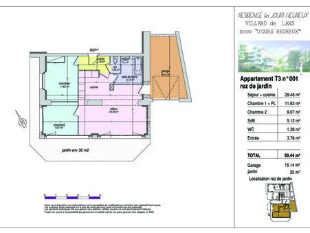 appartement  261000 €