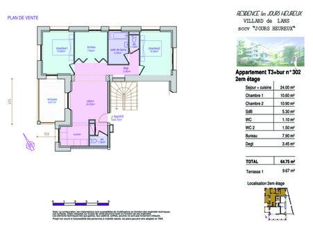 Vente appartement VILLARD DE LANS 64.77 m²  228 000  €