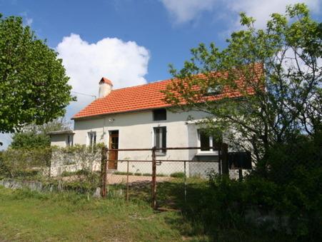 vente maison VITRY SUR LOIRE 133m2 126500€