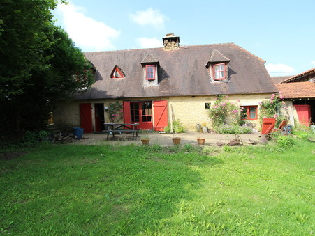 vente maison LA CHAPELLE AUBAREIL 169m2 283500€