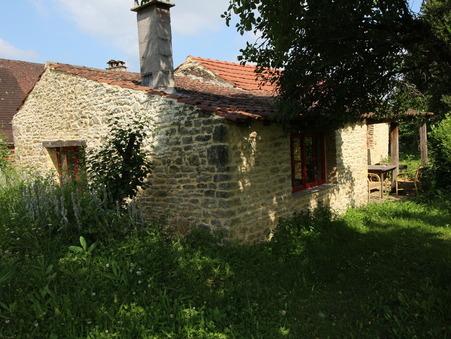 vente maison LA CHAPELLE AUBAREIL 53m2 87200€