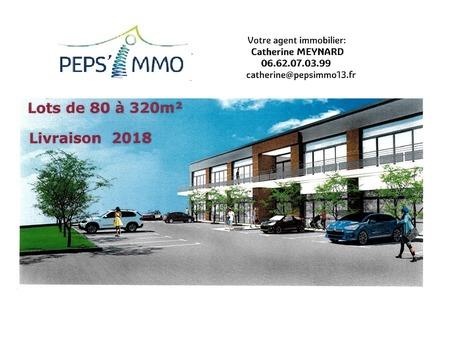 vente neuf CHATEAUNEUF LES MARTIGUES 86m2 222800€
