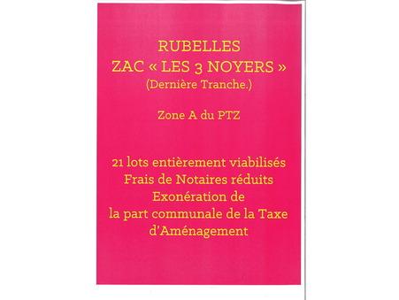 Vente Neuf RUBELLES Réf. RUBELLES T3 - Slide 1