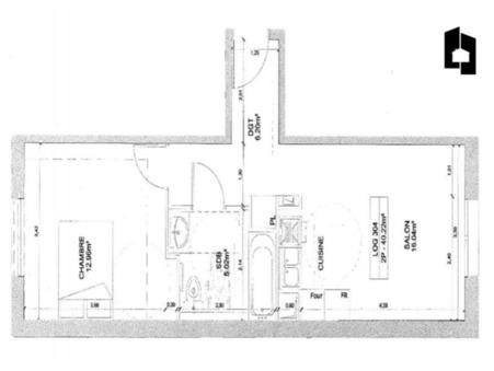 vente appartementMassy 40m2 0€