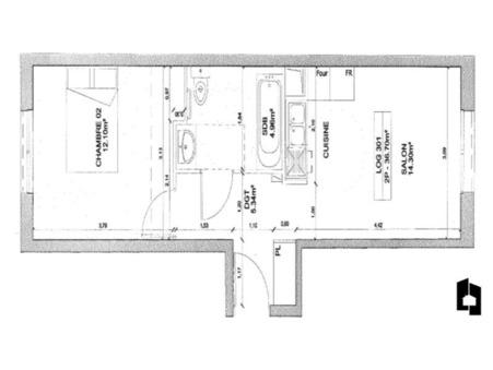 vente appartementmassy 36m2 184600€
