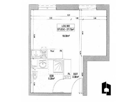 vente appartementMassy 27m2 0€