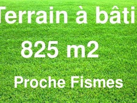 Vente Terrain Fismes Réf. 8627 - Slide 1