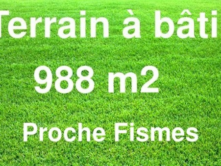 Achat terrain Fismes Réf. 8626