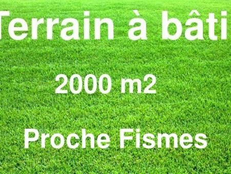Terrain 44500 €  Réf. 8628 Fismes