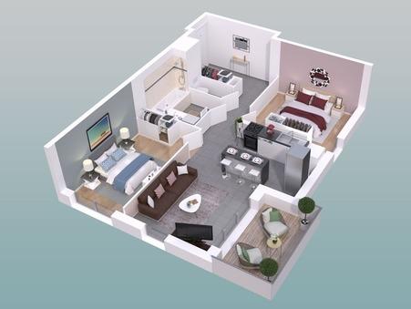 vente appartement LYON 5EME ARRONDISSEMENT 64.44m2 360000€