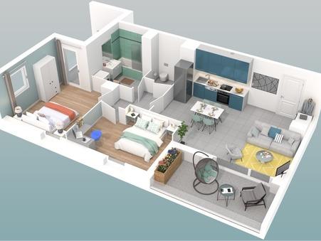 vente appartement VILLEURBANNE 62.84m2 303000€