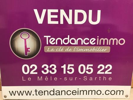 Terrain sur Le Mele sur Sarthe ; 45000 € ; Vente Réf. B2071SD