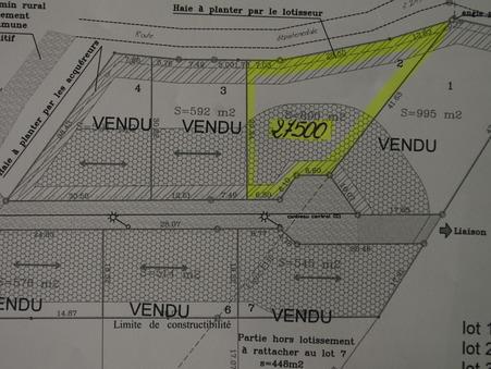 Vente Terrain Saintes Réf. 981 - Slide 1