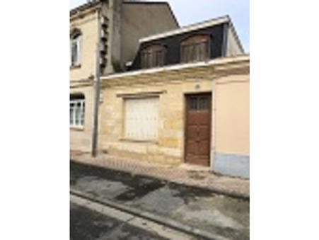 vente maison BORDEAUX 110m2 346500€