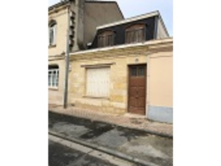 Vente maison BORDEAUX 110 m²  346 500  €