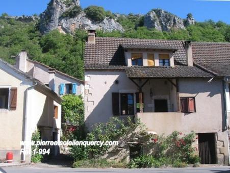 vente maison Saint-Géry 60m2 43600€