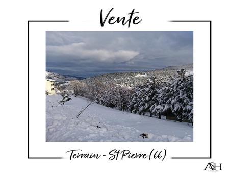 Vente Terrain Saint-Pierre-dels-Forcats Réf. ASH01 - Slide 1