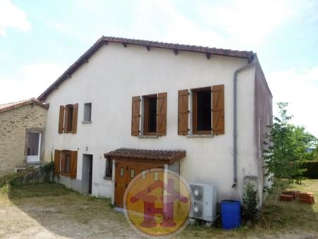 vente maison BRIGUEUIL 116m2 91800€