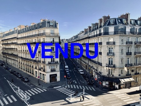 Vente appartement 465 000 € Paris 17eme Arrondissement
