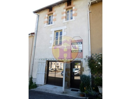 vente maison ROCHECHOUART 125m2 86400€
