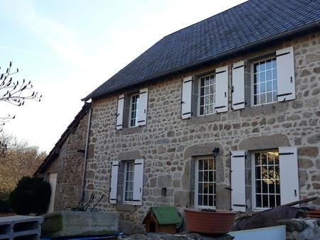 vente maison LA COURTINE 90m2 86000€