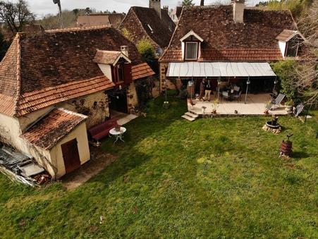 vente maison ROUFFIGNAC ST CERNIN DE R 75m2 197000€