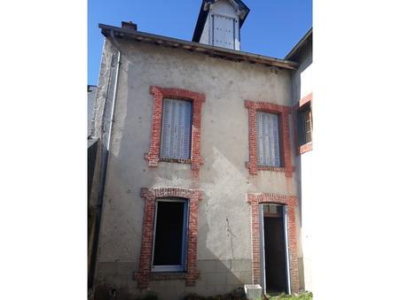 vente maison USSEL 90m2 35000€