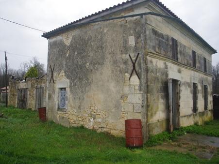 A vendre maison Pons 17800; 75280 €