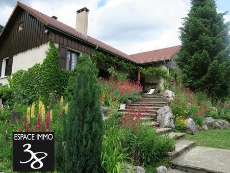A vendre maison Monestier de Clermont 38650; 383000 €