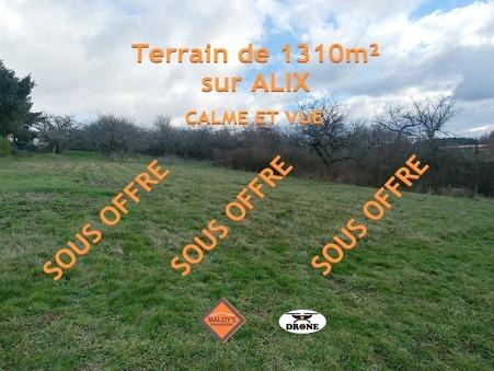 Vente Terrain ALIX Réf. 1087-3 - Slide 1