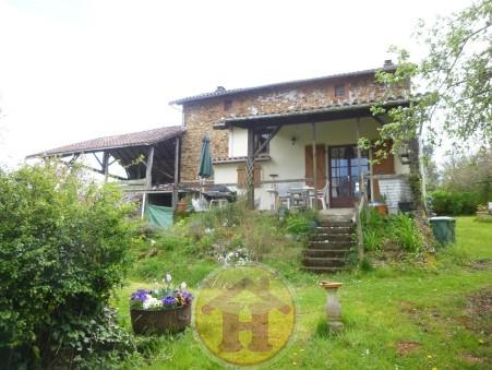 vente maison CHAILLAC SUR VIENNE 123m2 70200€