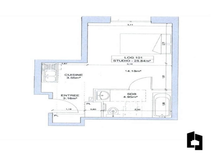 Appartement MASSY 0  �
